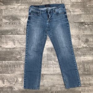 LUCKY JEANS SWEET' N STRAIGHT ANKLE SIZE  10/30